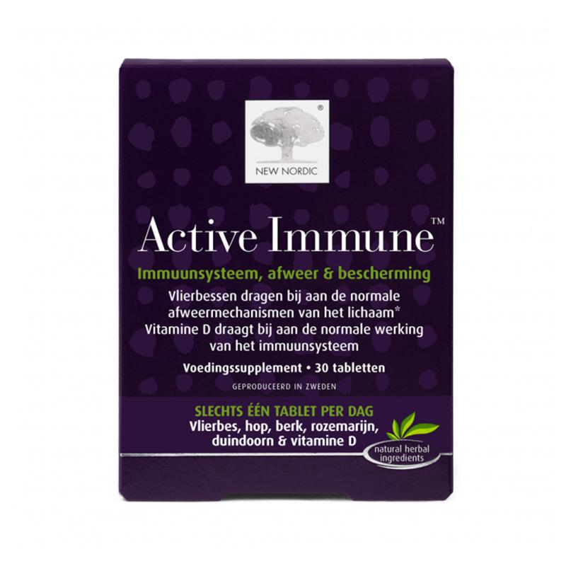 New Nordic Active immune 30 tabletten