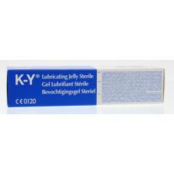 K-Y Steriele lubricant gel