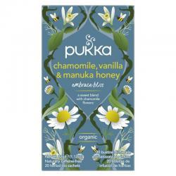 Chamomile vanille/manuka honing