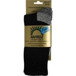 Thermo loop wandel sport sokken blauw 39-42