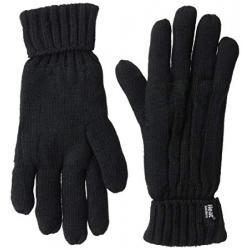 Ladies cable gloves M/L black