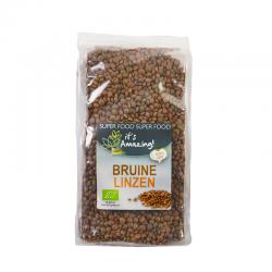Bruine linzen bio