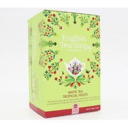 White tea tropical fruits bio