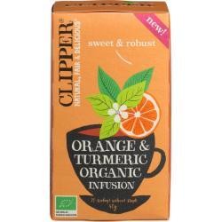 Orange & turmeric infusion bio